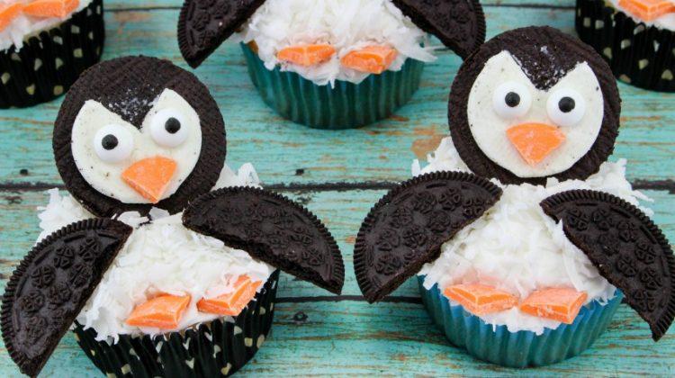 Super Cute Penguin Cupcakes Tutorial