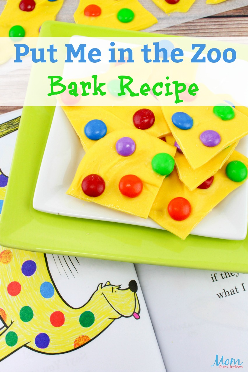 Put me in the Zoo Recipe Bark BANNER