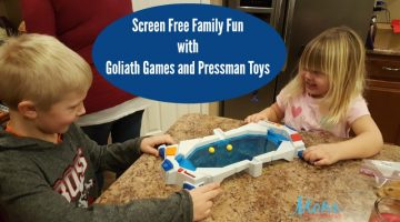 Screen Free Family Fun with Goliath Games and Pressman Toys
