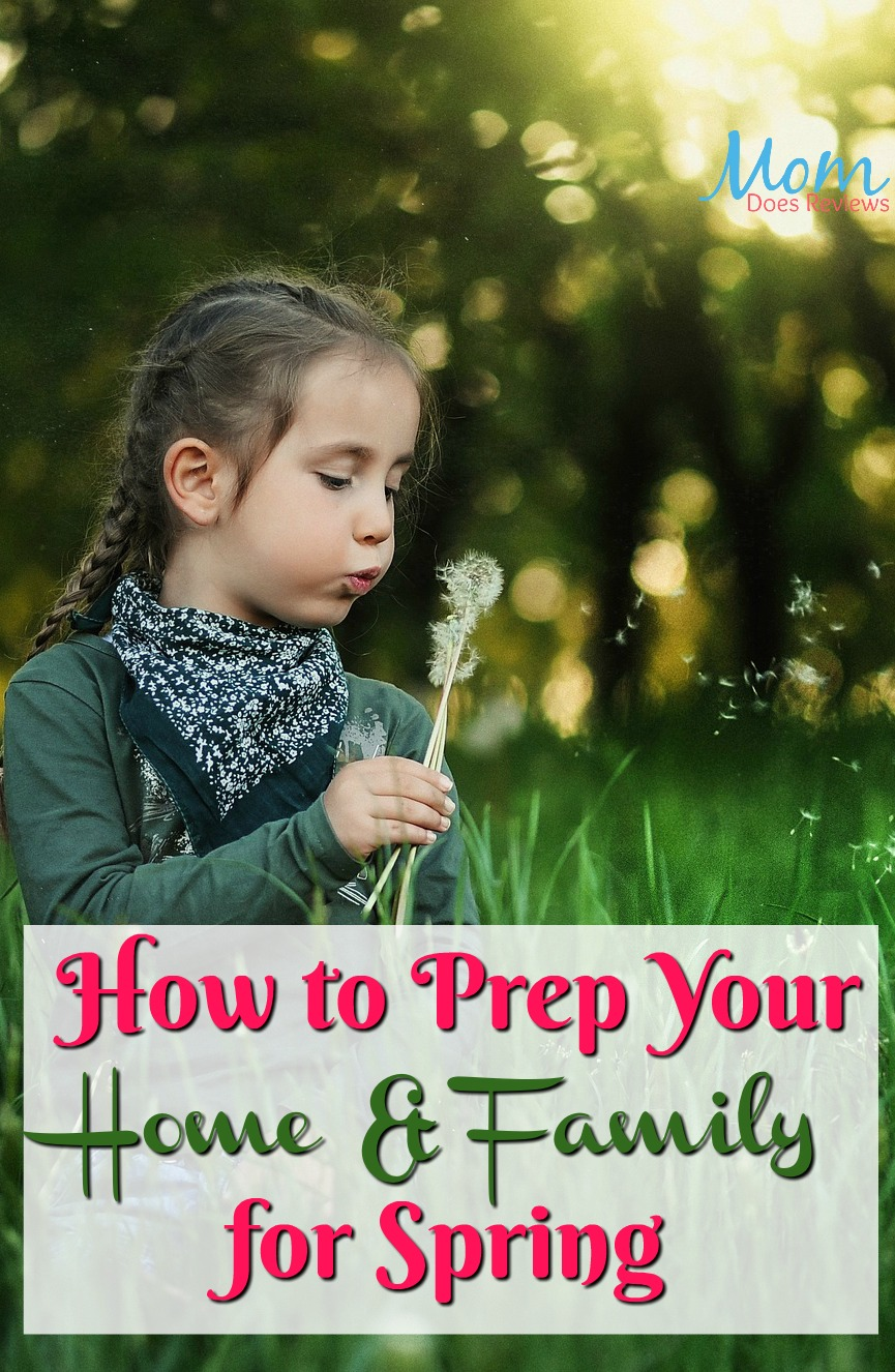 Spring is around the Corner: How to Prep Your Family and Home #home #family #spring #homeandliving
