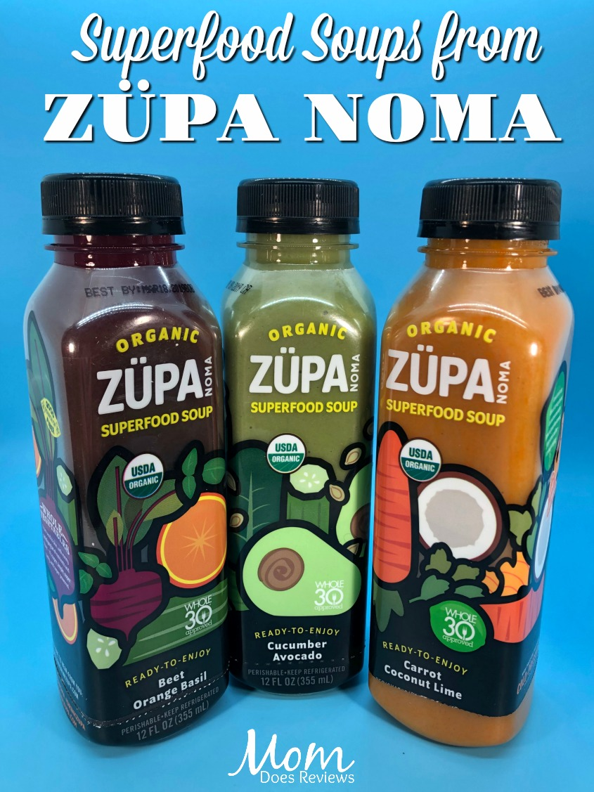 Superfood Soups from ZÜPA NOMA