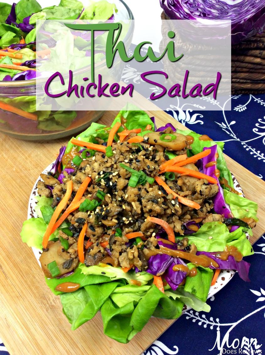 Thai Chicken Salad #recipe #chicken #keto #lowcarb