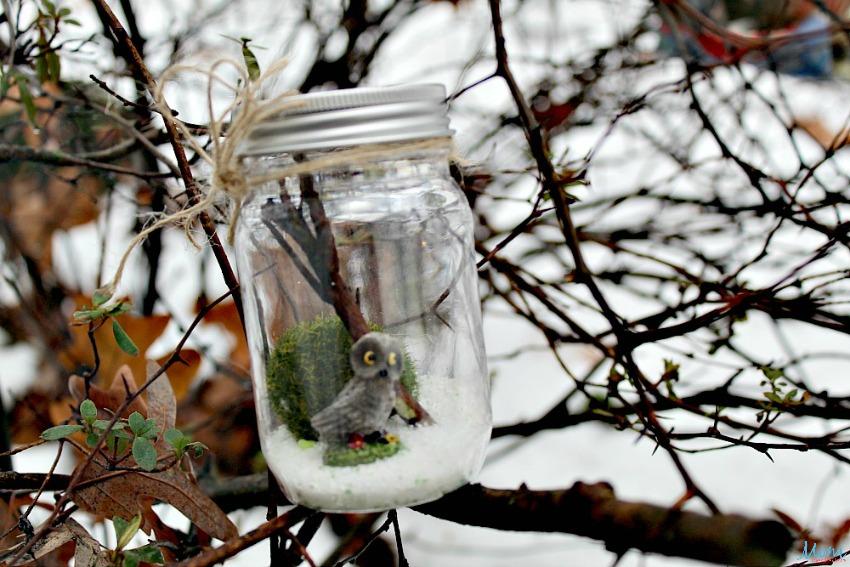 Dollar Store DIY: Whimsical Woodland Creature Terrarium