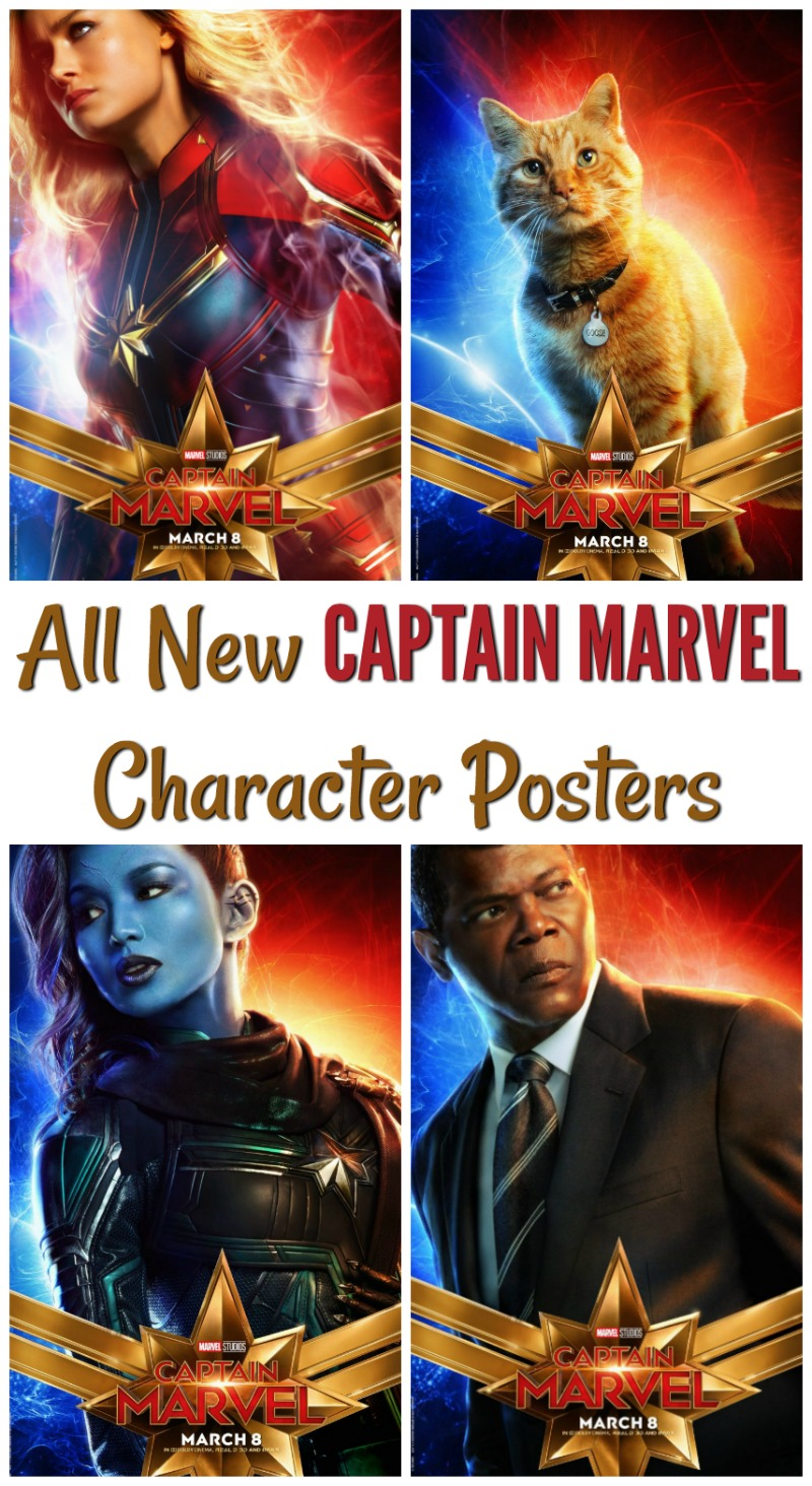 New Character Posters and Preview of Marvel's #CaptainMarvel - In Theaters March 8 #marvel #movies