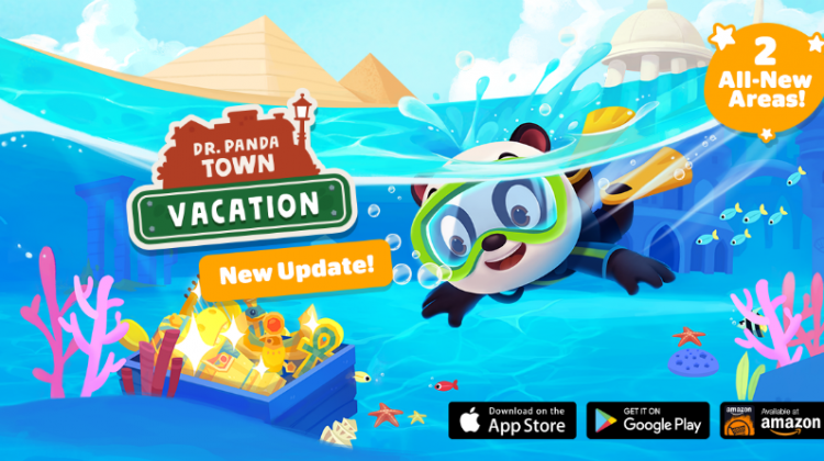 Hop Aboard And Discover New Adventures In The Dr. Panda Town: Vacation App! #Review
