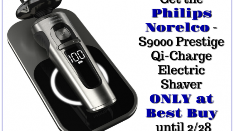 Get a Great Shave with Philips Norelco- First Wireless Shaver Only at #BestBuy Until 2/28