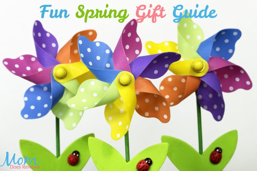 Fun Spring Gift Guide on Mom Does Reviews