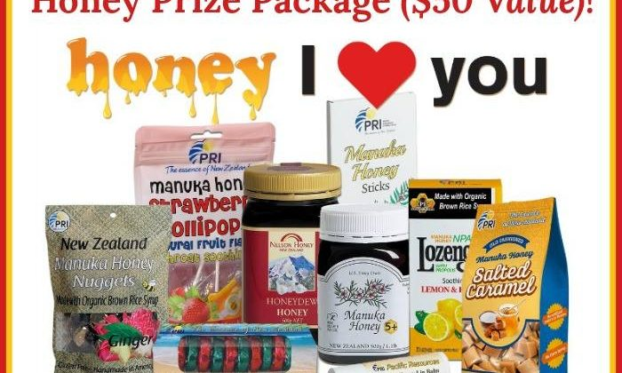 #Win 'Honey, I Love YOU' Manuka Honey Prize Pack- US, ends 2/27 #ManukaHealth #ShopPRI