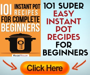 101 Recipes for the Instant pot