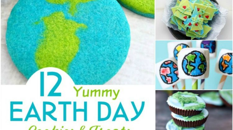 12 Yummy Earth Day Cookies & Treats for a Fun Celebration