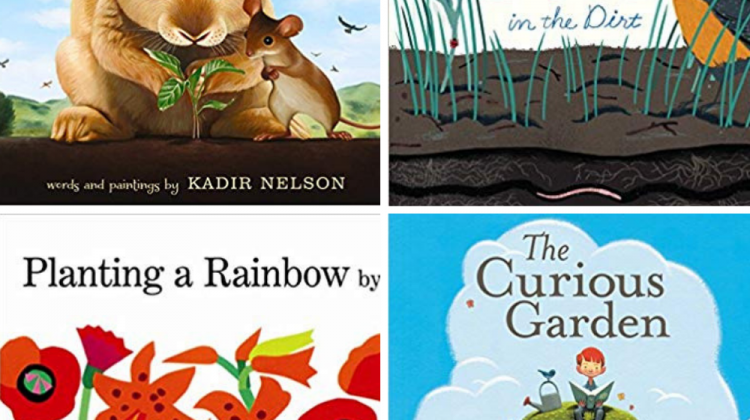 15 Books About Gardens for Kindergarteners
