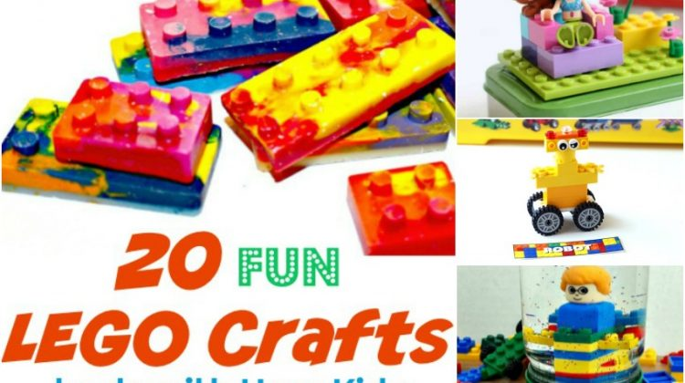 20 Fun LEGO Crafts to do with Your Kids