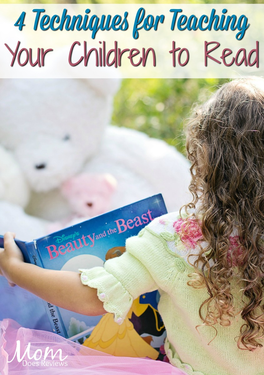 4 Helpful Techniques for Parents Teaching Children to Read #parenting #reading #education