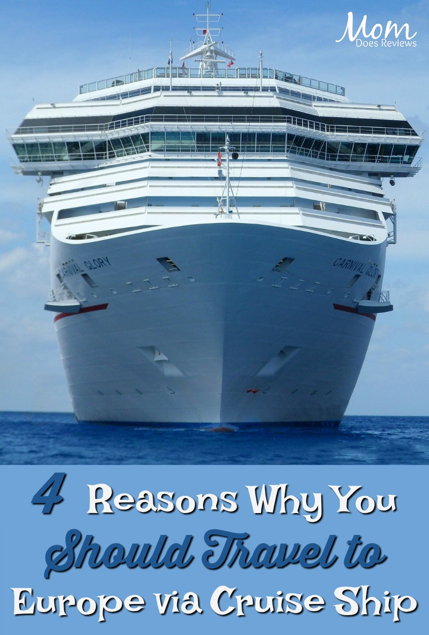 4 Reasons Why You Should Travel to Europe via Cruise Ship #travel #vacation #cruiseship #europe