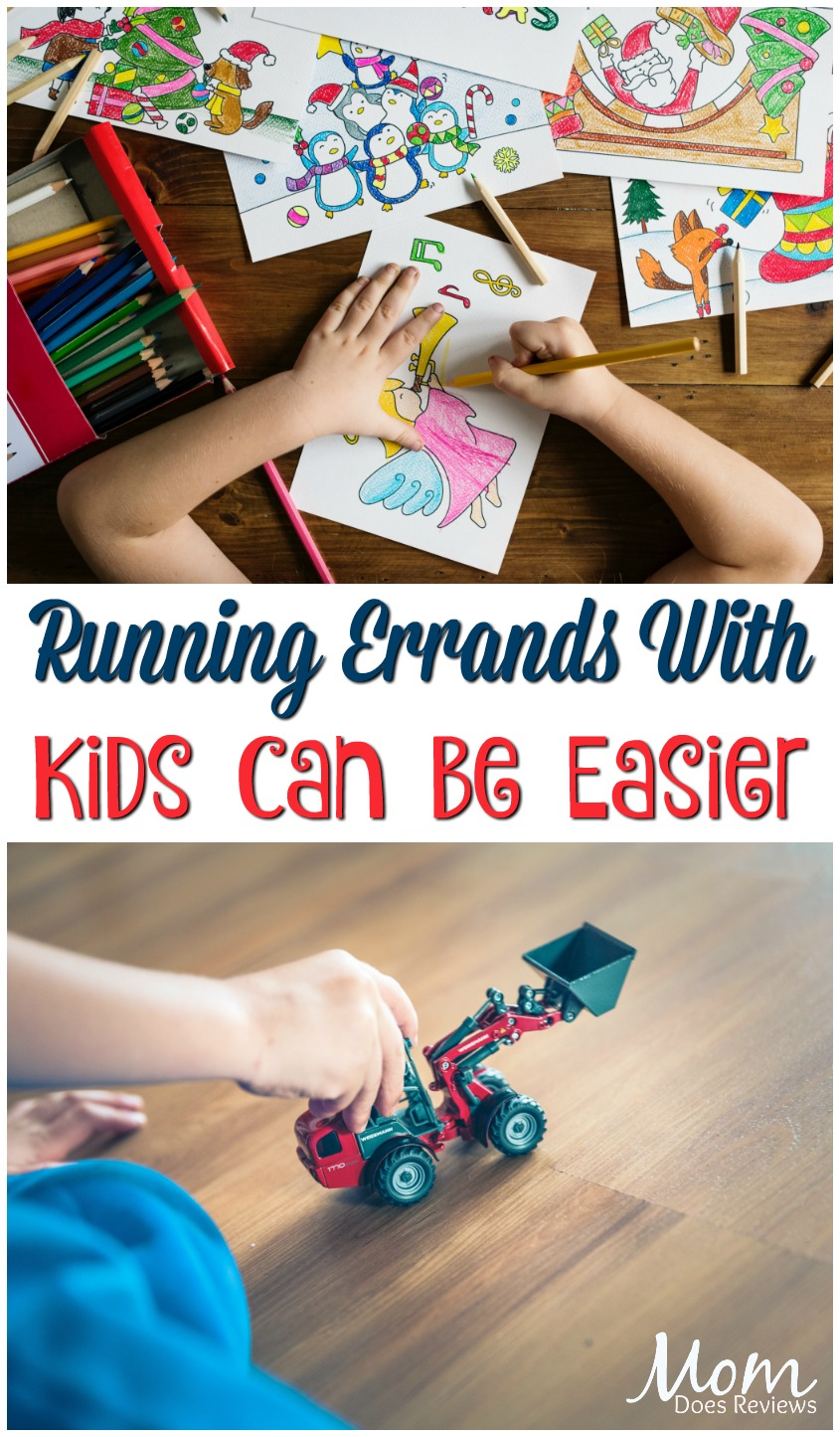 Mama on the Move! 4 Ways to Help Make Running Errands with Kids Easier #parenting #kids #busymom #momlife