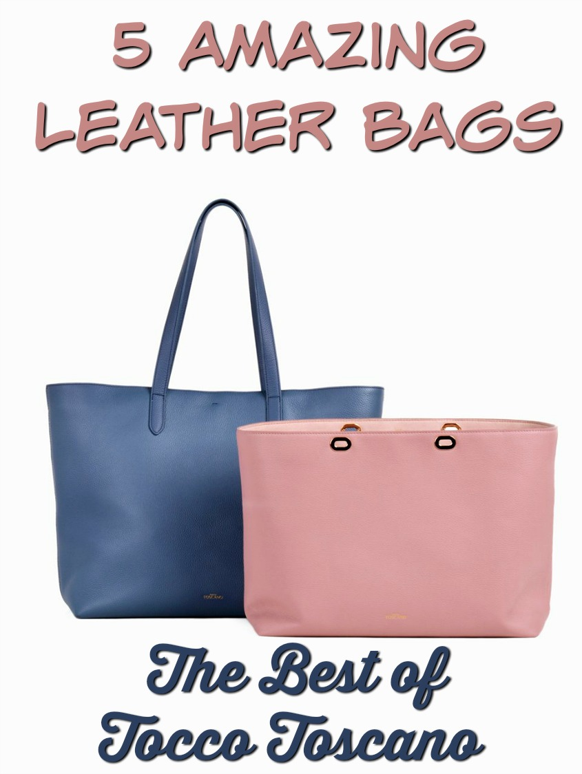 5 Amazing Leather Bags: The Best of Tocco Toscano #fashion #handbags #leather