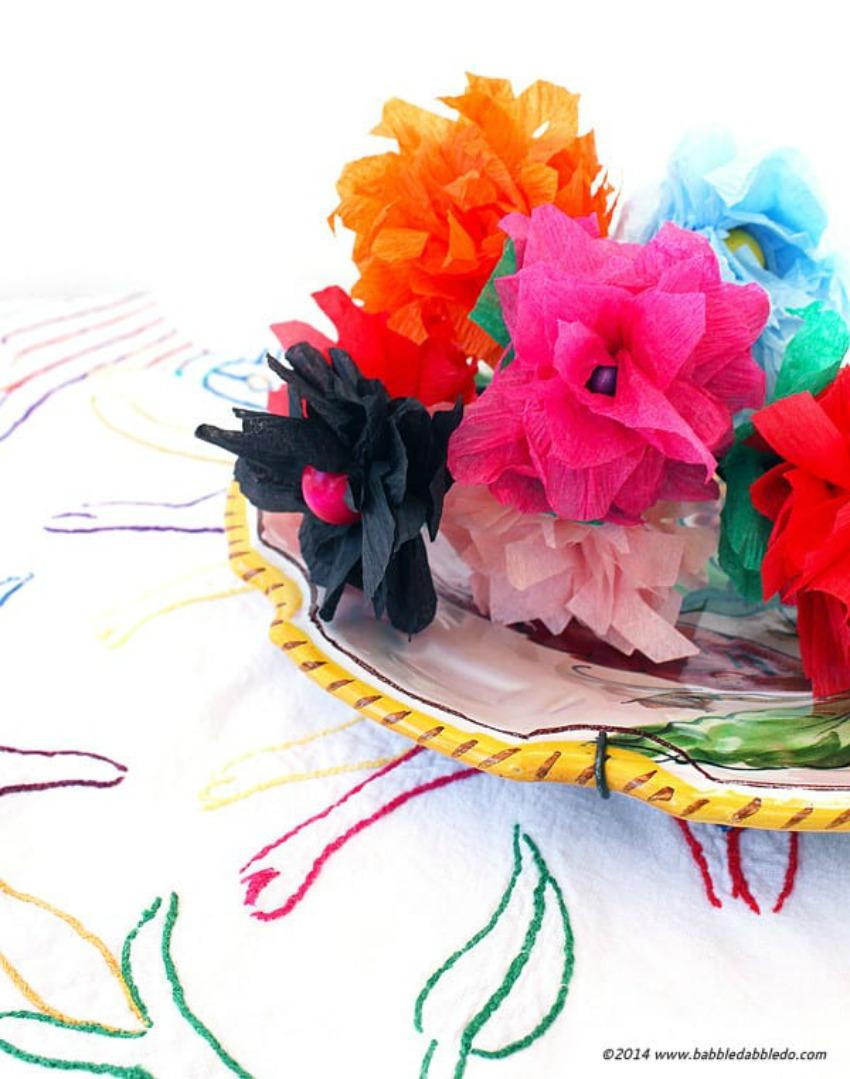 5-Minute Crepe Paper Flowers