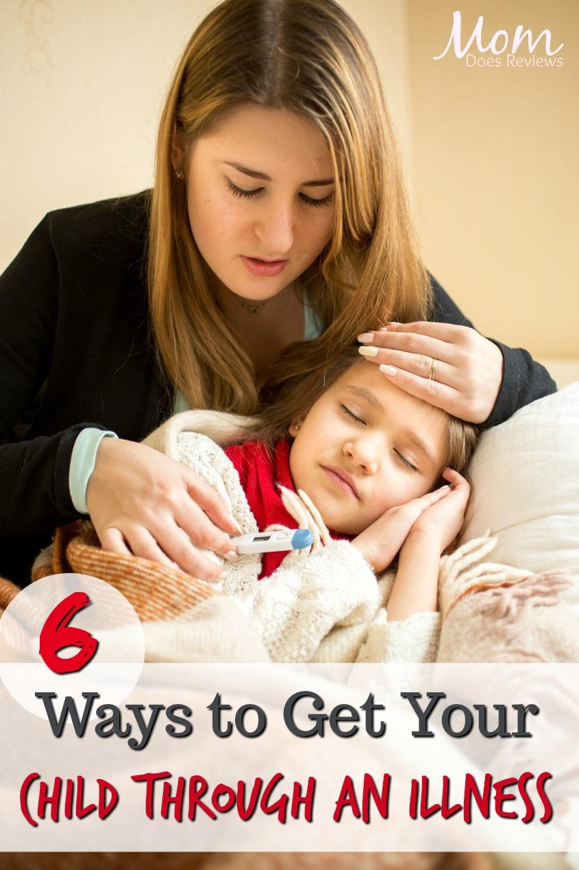 6 Ways to Get Your Child through an Illness #health #parenting #sickness #sickkids