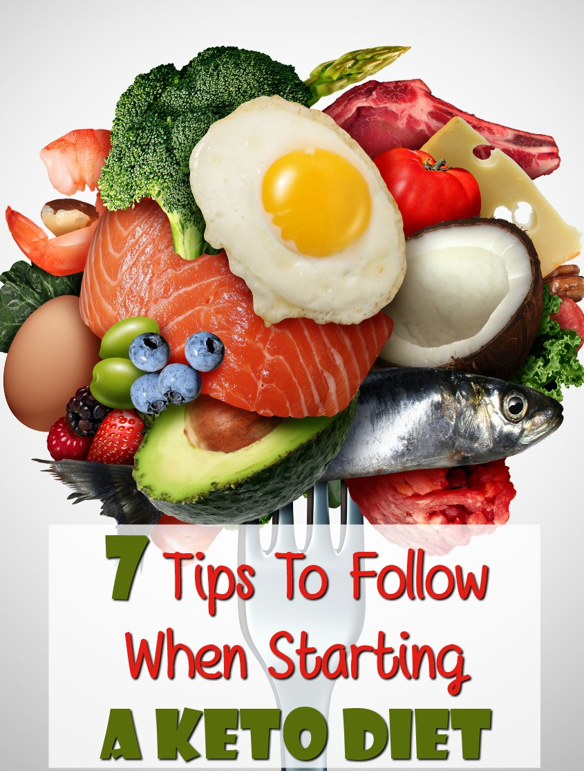 7 Tips You Should Follow When Starting A Keto Diet #food #nutrition #keto #ketogenic #macros