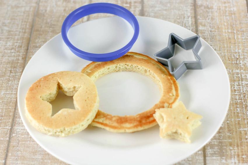 Captain America Pancakes process