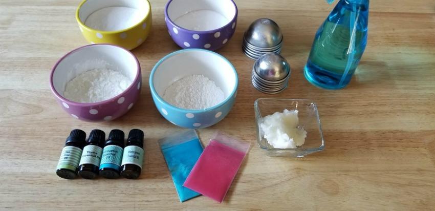 Decongestant Bath Bombs Supplies needed