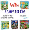 #Win 5 Games For Kids, US Only, ends 3/28 #SpringFunonMDR