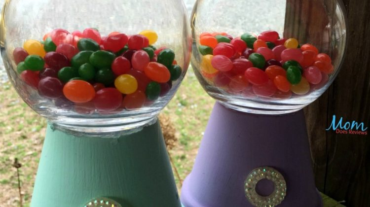 DIY Easter Gumball machine #craft #funstuff #easter #jellybeans