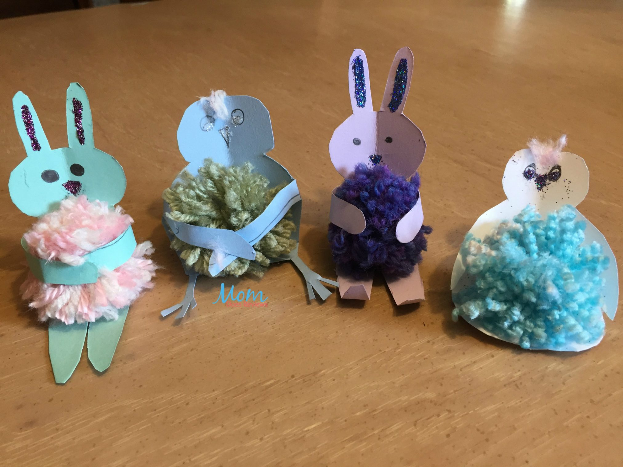 Easter bunny with pom pom