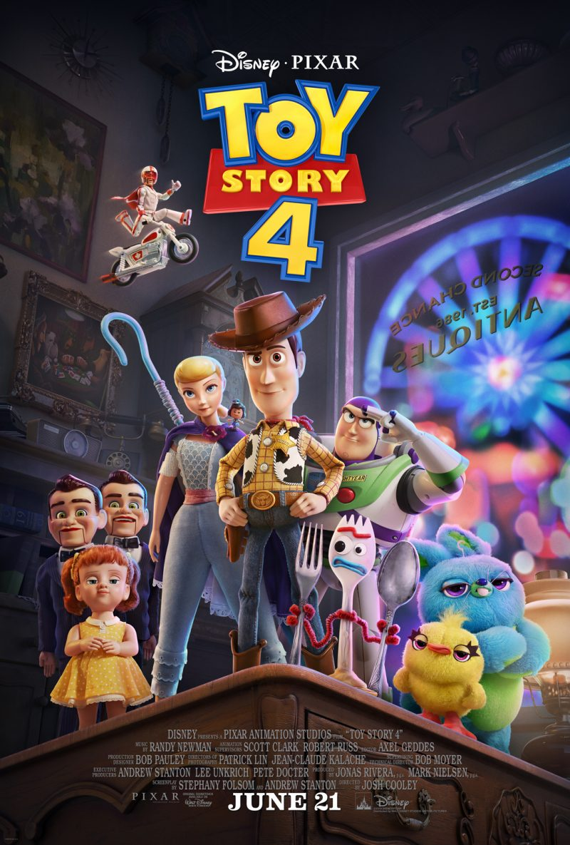 "Meet New ""TOY STORY 4"" Characters: Trailer, Poster & Image Now Available Here #ToyStory4"