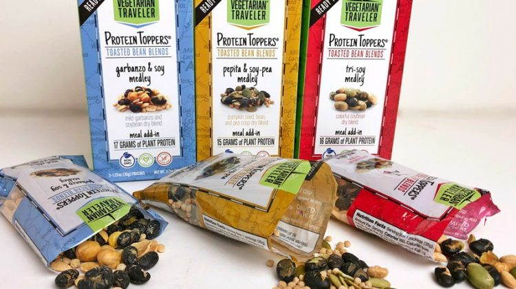 Fuel Your Body with Protein Toppers from Vegetarian Traveler #SpringFunonMDR