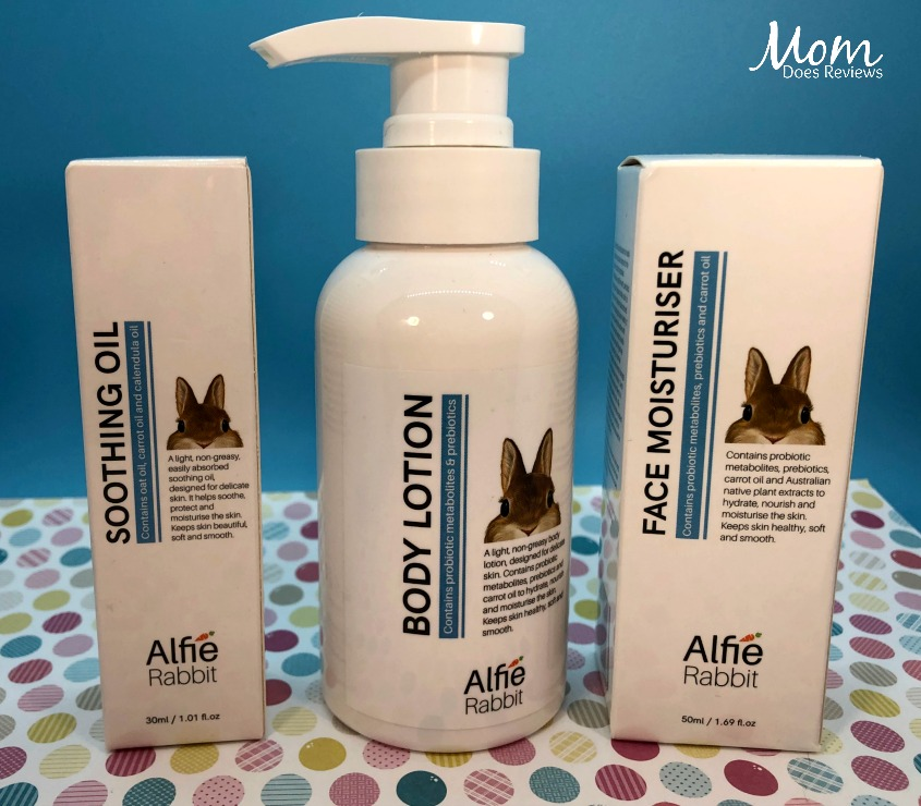 Breakthrough Probiotic Skin Care from Elissah & Alfie Rabbit skincare pack #SpringFunonMDR