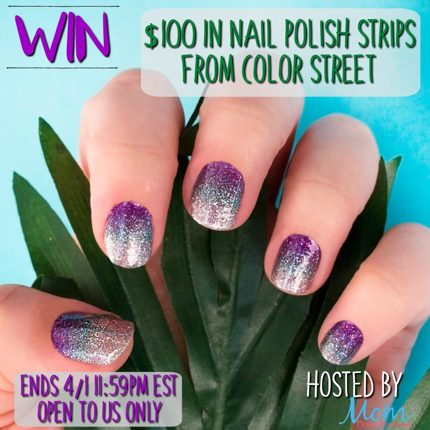 Win $100 in color STREET Nail Polish Strips, US Only, ends 4/1 ...