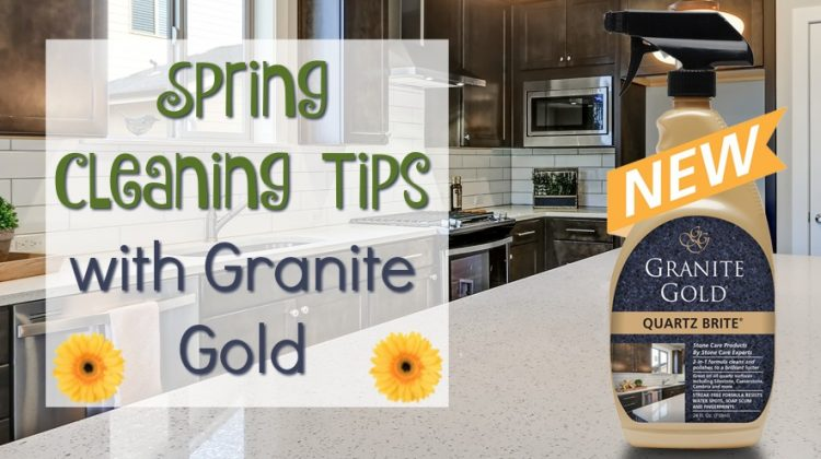 Spring Cleaning with Granite Gold & #Win a Cleaning Bundle too! #SpringFunonMDR