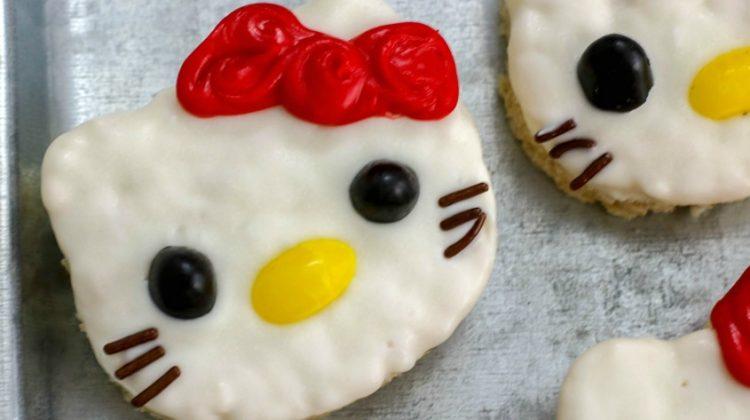 Hello Kitty Krispie Treats