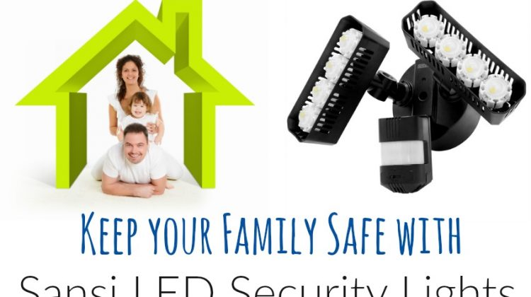 Keep your Family Safe with Sansi LED Security Lights