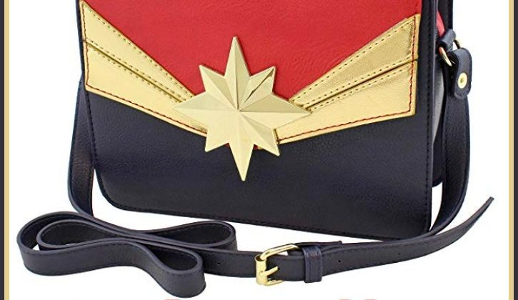 #Win a Captain Marvel Crossbody Handbag! #CaptainMarvel US, ends 3/21