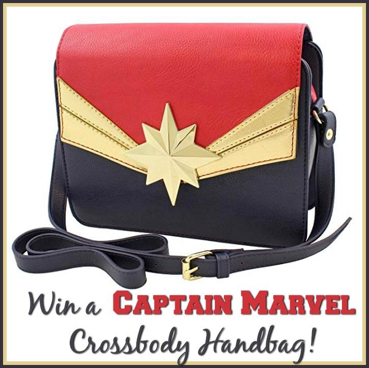 #Win a Captain Marvel Crossbody Handbag! #CaptainMarvel US, ends 3/21