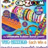 2 #winners Cra-Z-Loom Bracelet Maker.