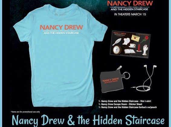 Nancy Drew and the Hidden Staircase Swag Pack #Giveaway #NancyDrew #TheHiddenStaircase