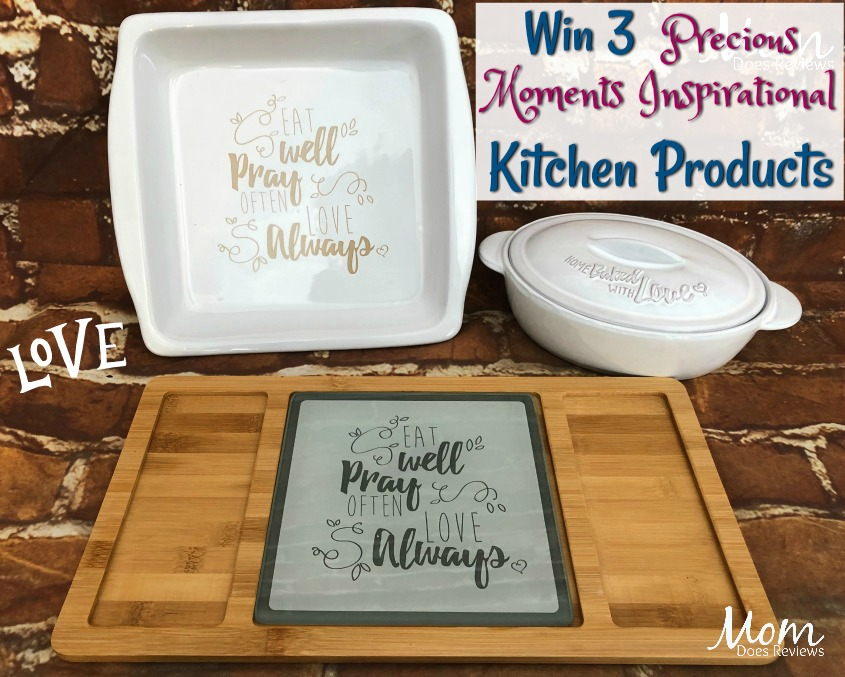 Win 3 Precious Moments Inspirational Kitchen Products