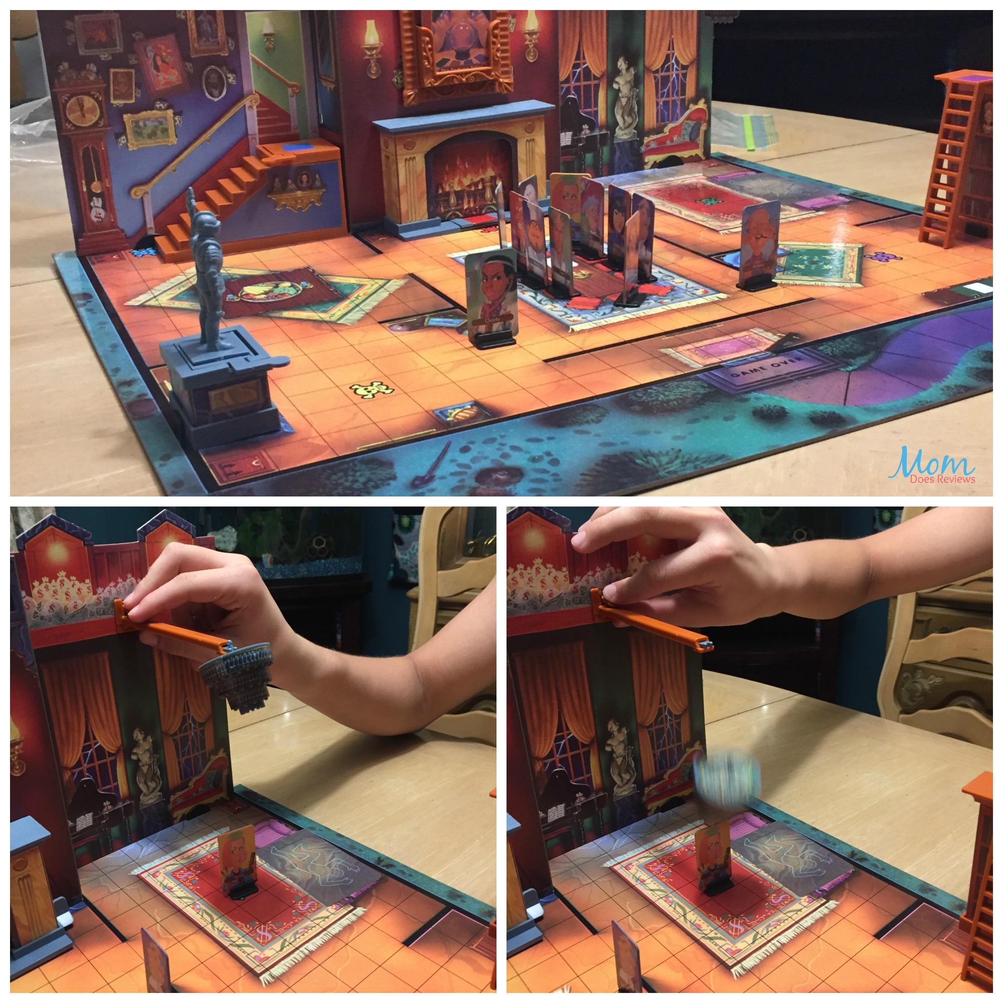 board game, traps
