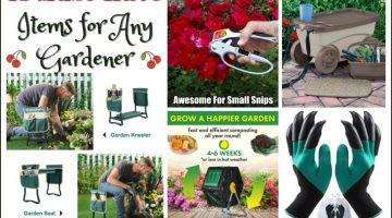 15 Must Have Items for Any Gardener