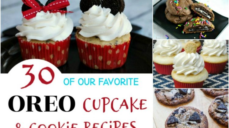 30 of our Favorite Oreo Cupcake & Cookie Recipes