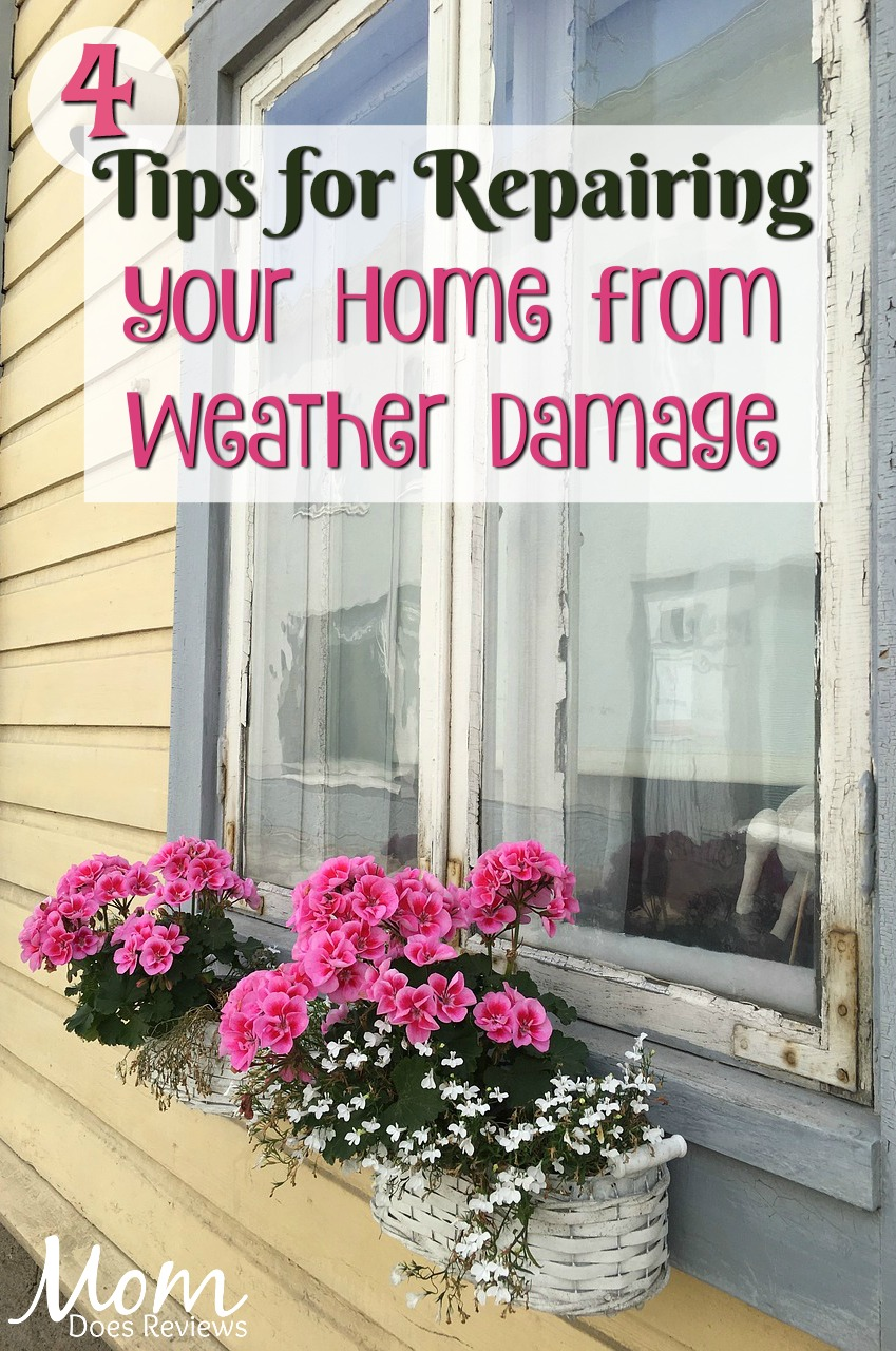 4 Tips for Repairing Your Home from Weather Damage