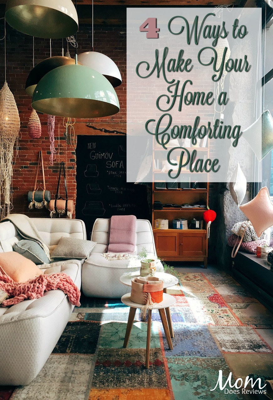 4 Ways to Make Your Home a Comforting Place #home #comfort #family