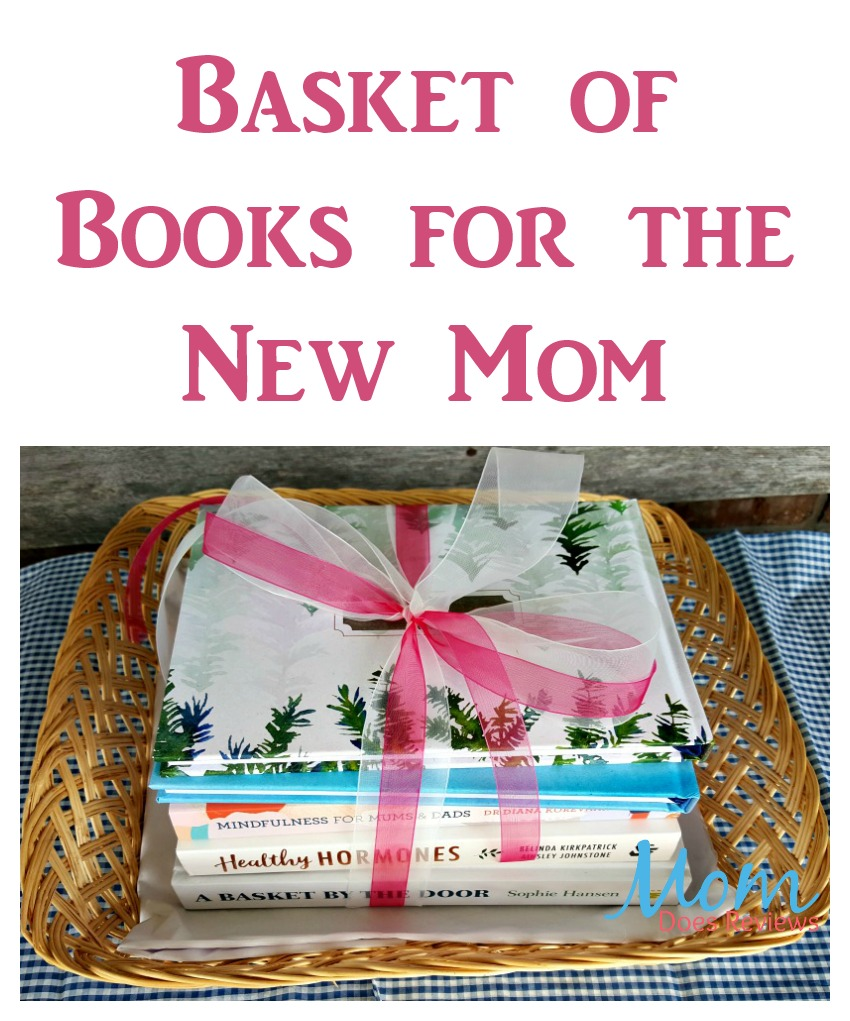 Basket of Books for the New Mom