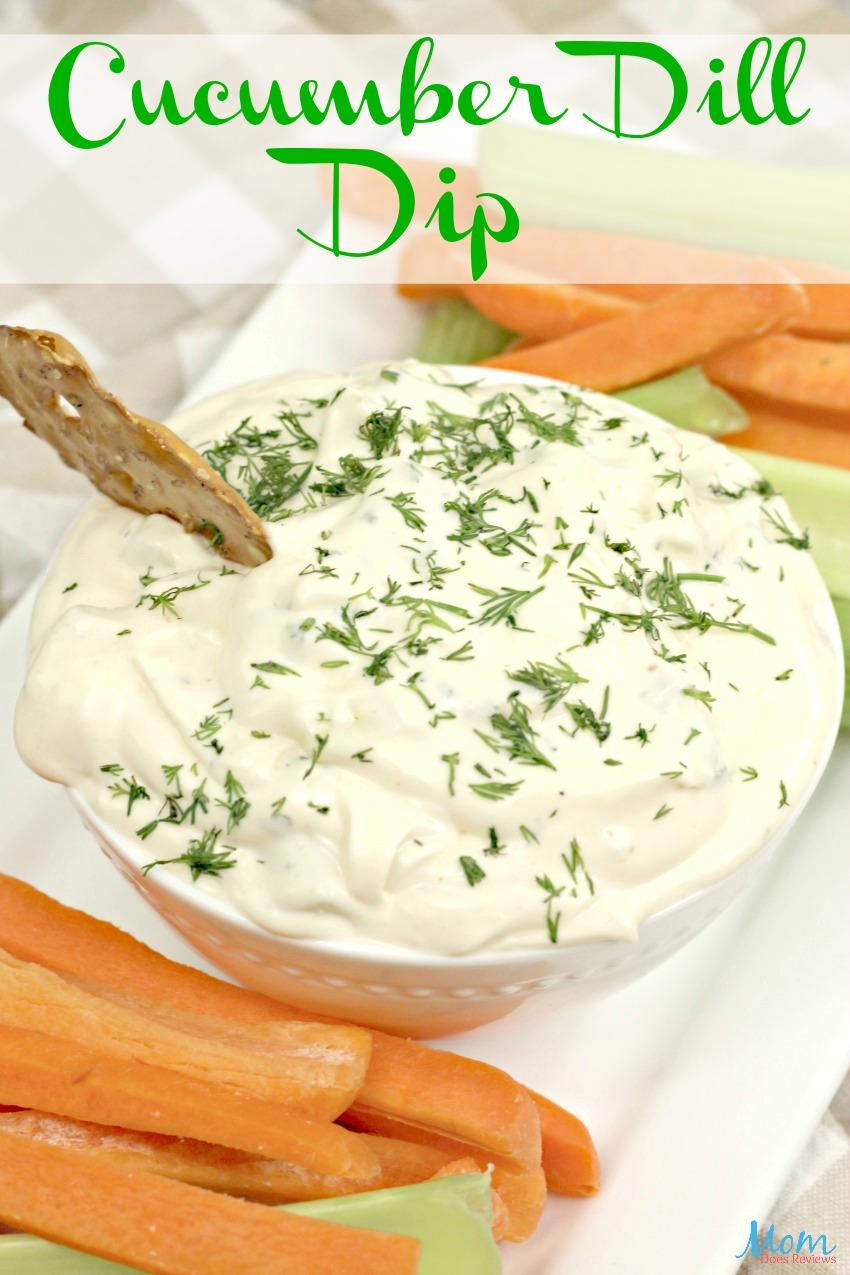 Cucumber Dill Dip #Recipe #food #dip #appetizers #cucumber #foodie #getinmybelly