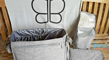 The Only Diaper Bag You Need from bblüv