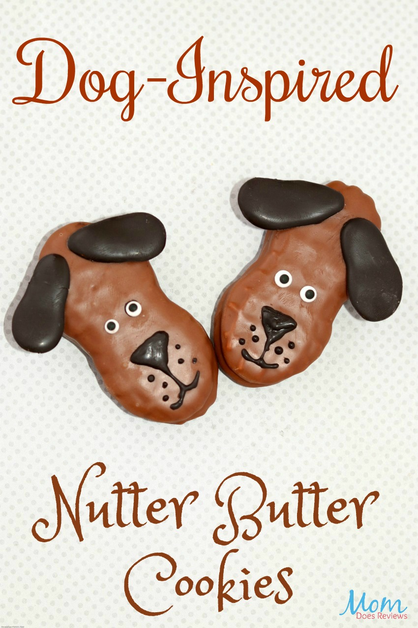 Dog-Inspired Nutter Butter Cookies #recipe #cookies #desserts #funfood
