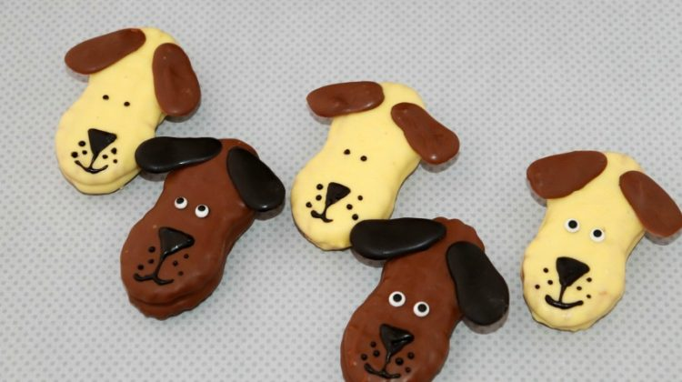 Dog-Inspired Nutter Butter Cookies